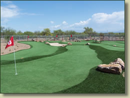artificial commercial golf